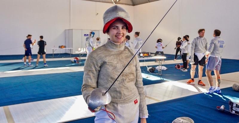 Karina buscava sua primeira participação em Jogos Olímpicos