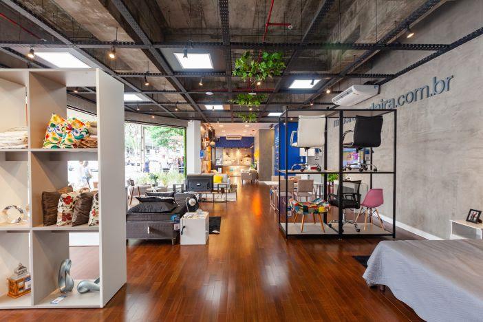 Unidade na avenida da Azenha funciona como um 'guide shop' do e-commerce