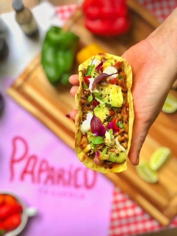 Paparico Taqueria opera por delivery e takeaway