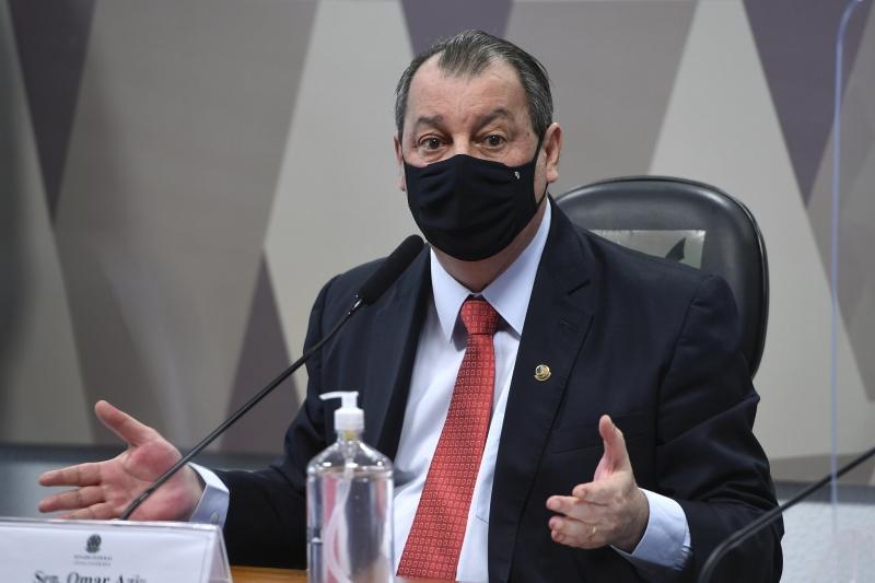 """Para o presidente da CPI, Omar Aziz, o habeas corpus obtido pelo ex-ministro da Saúde Eduardo Pazuello """"muda muito"""" o resultado da comissão de inquérito"""