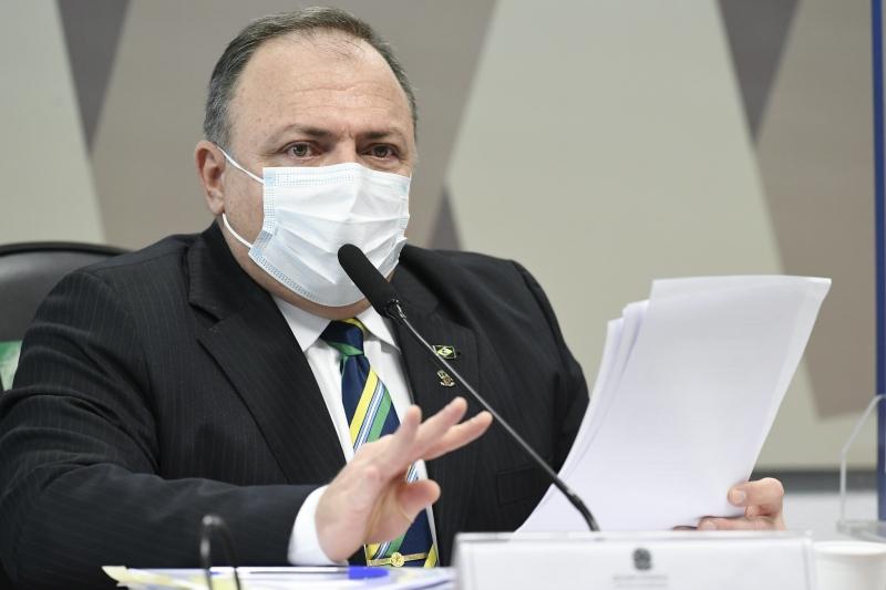 O ex-ministro da Saúde Eduardo Pazuello voltou a dizer que nunca comprou hidroxicloroquina enquanto estava como titular da pasta