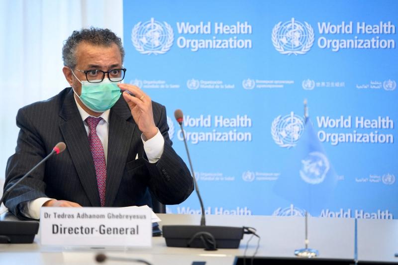 Para Tedros Adhanom, diretor-geral da entidade, situação da pandemia segue preocupante