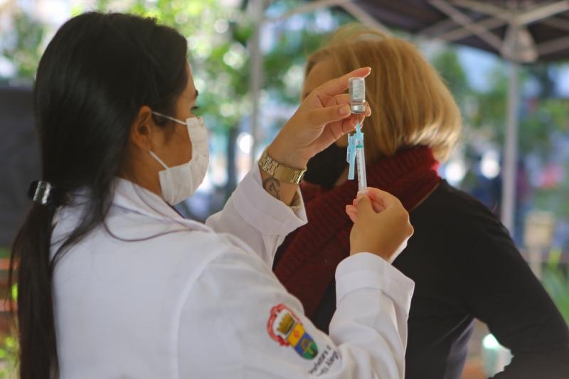 Recorte inicial se faz necessário em função da quantidade de vacinas disponíveis