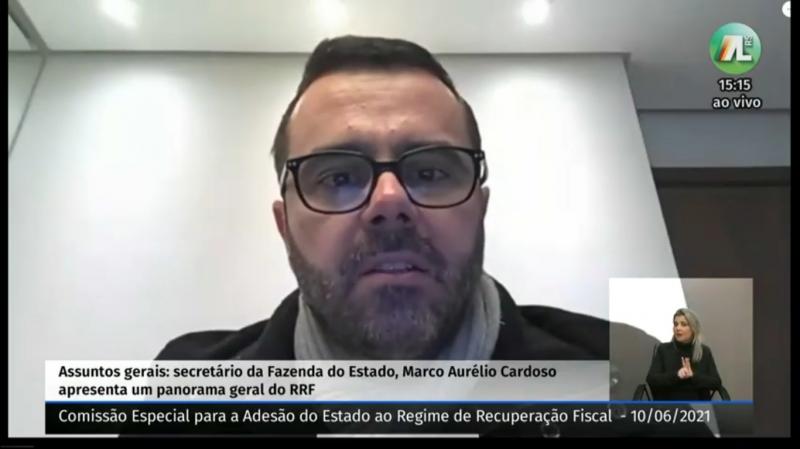 Marco Aurelio Cardoso participou de reunião da comissão temática