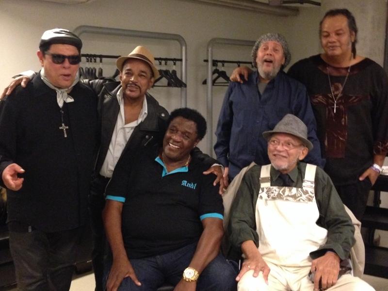 Di Melo, Carlos Dafé, Tony Tornado, Paulo Diniz, Luis Vagner e William Magalhães (Banda Black Rio)