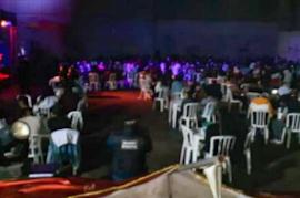 Agentes flagraram festas na Ilha dos Marinheiros e no Sambódromo do Porto Seco