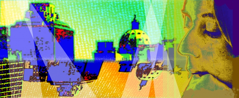Série 'Cidade do meu olhar', da artista multimídia, será exibida nas TVs dos trens e estações