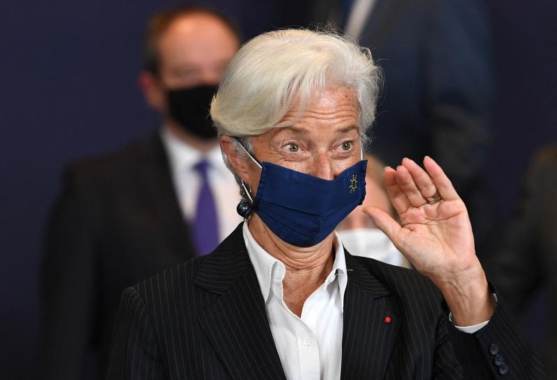 'É bom que definamos metas ambiciosas sobre o clima', disse Lagarde no podcast do BCE