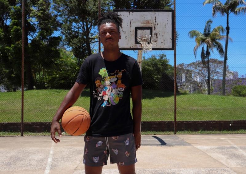 Will é professor e tem o sonho de mudar realidades através do basquete