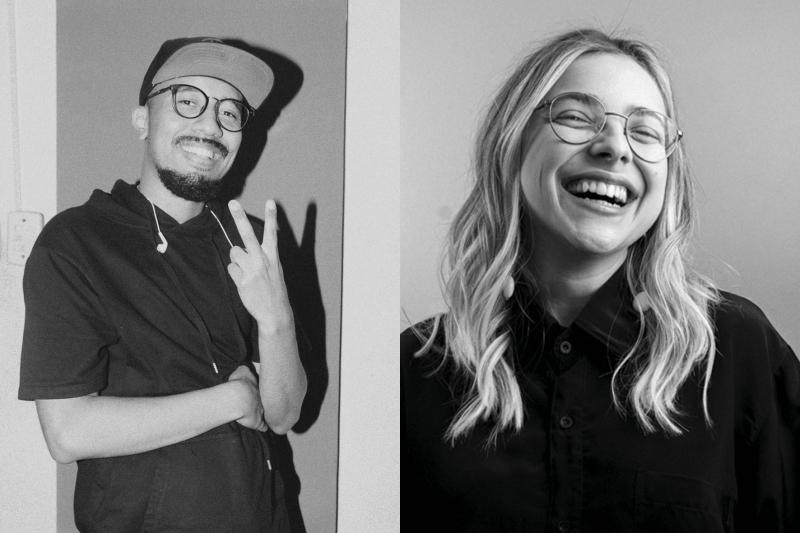 Joca Lima e Aline Bohn fazem parte da DZ Estúdio e colaboraram com o Rumos Mais Pretos