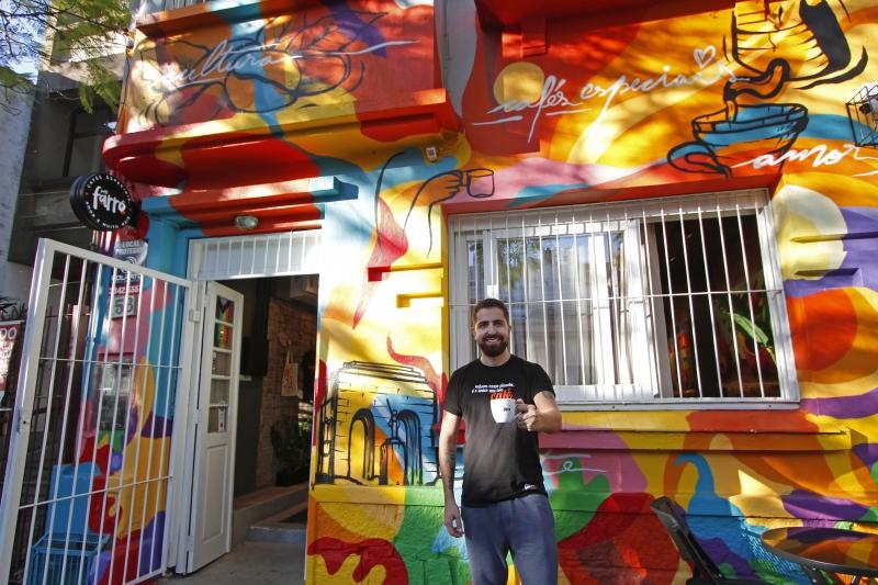 O Café Porto Farrô fica próximo ao Parque da Redenção