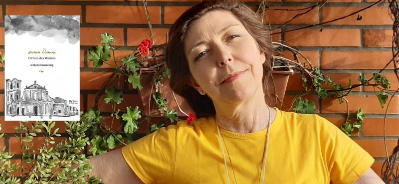 'Porteira da fantasia' fala sobre 'aurum Domini - o ouro das Missões', de Simone Saueressig