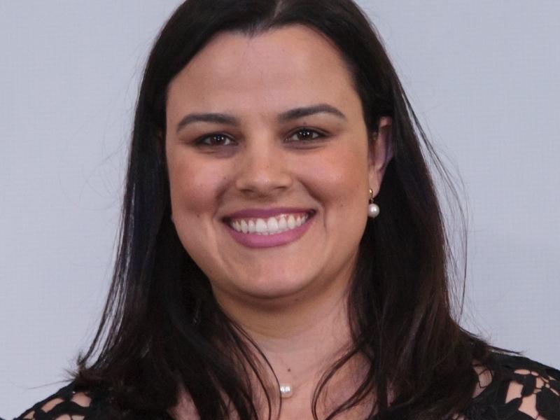 Caroline Sebastião de Oliveira, diretora de Comunicação do SESCONRS