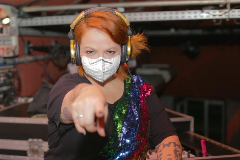 matéria especial casas noturnas - Ocidente, Tais Scherer, produtora e DJ da festa Balonê