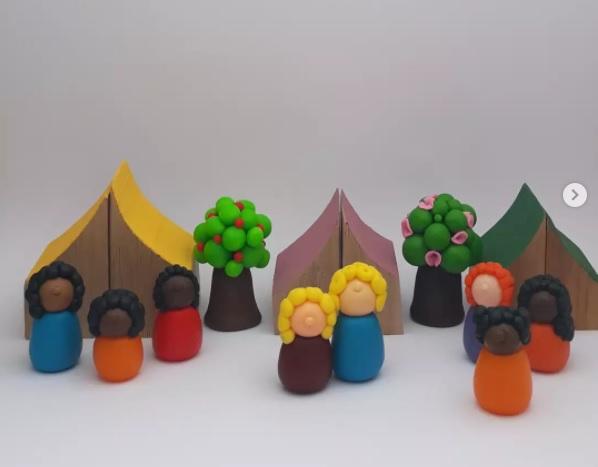 Brinquedos lúdicos de empreendedoras de Porto Alegre