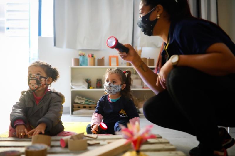 Poderão ser inscritas crianças com idade até 5 anos e 11 meses em 31 de março de 2022