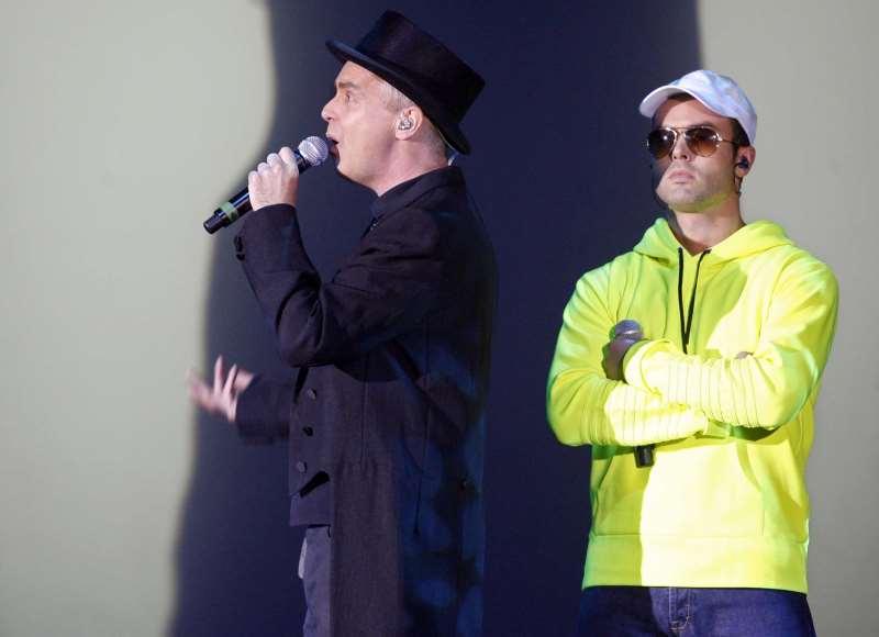 Direto do Rock in Rio, grupo inglês Pet Shop Boys se apresenta em Porto Alegre