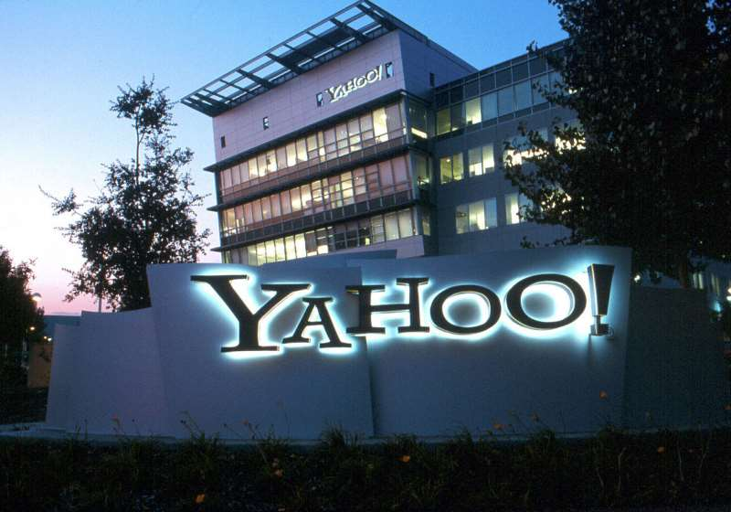 (FILES) THIS HANDOUT PHOTO RECEIVED 04 MAY 2004 SHOWS YAHOO! CORPORATE HEADQUARTERS IN SUNNYVALE, CALIFORNIA.THE INTERNET GIANT YAHOO HAS ASKED A US COURT TO DISMISS A LAWSUIT IT CALLED