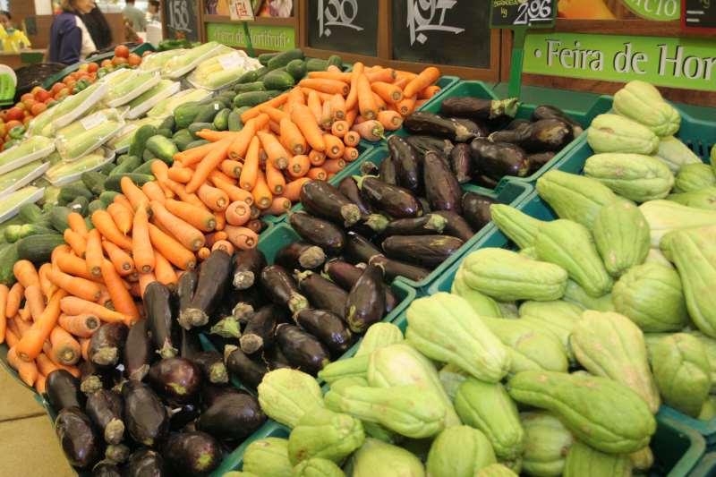 Alvo da iniciativa são legumes, frutas e verduras dos estabelecimentos