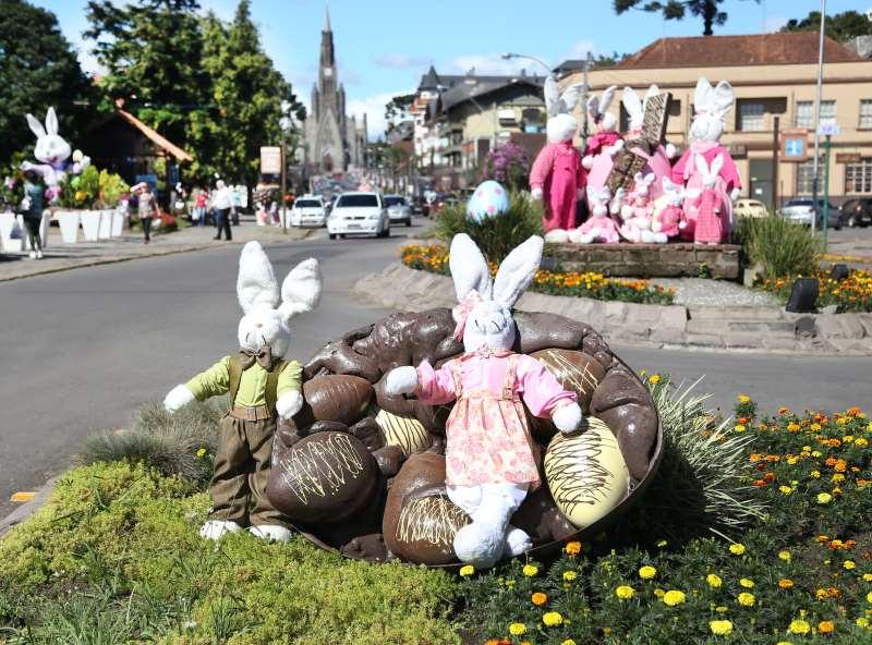 A Serra gaúcha anunciou programação com diversos atrativos no feriado de Páscoa