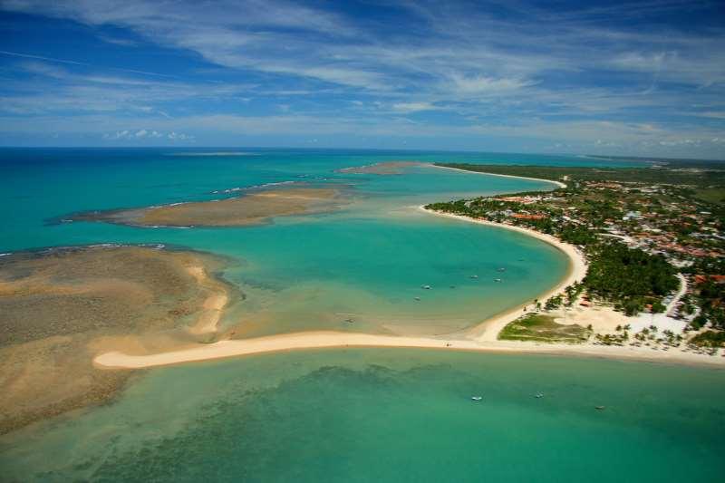 No Brasil, as praias do Nordeste são o destino preferido pelos gaúchos para o descanso fora de época