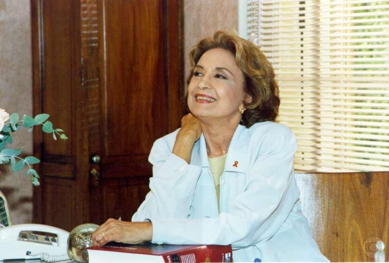 Eva Wilma tem 87 anos e está internada em um hospital de São Paulo