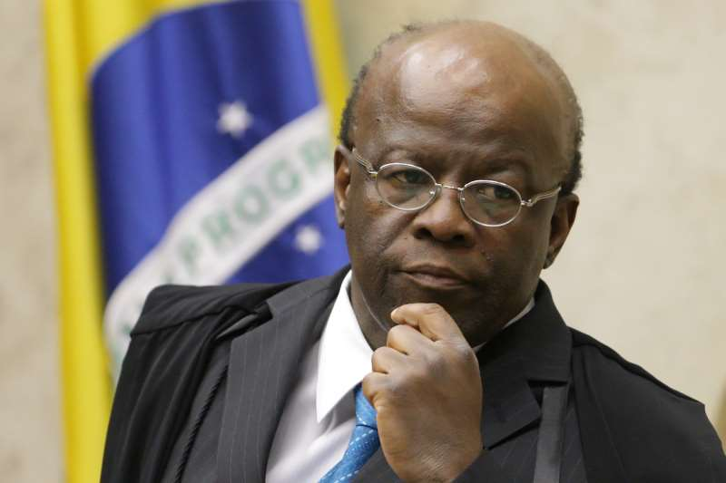 MINISTRO JOAQUIM BARBOSA PRESIDE SESSÃO PLENÁRIA DO STF. FOTO: FELLIPE SAMPAIO/SCO/STF