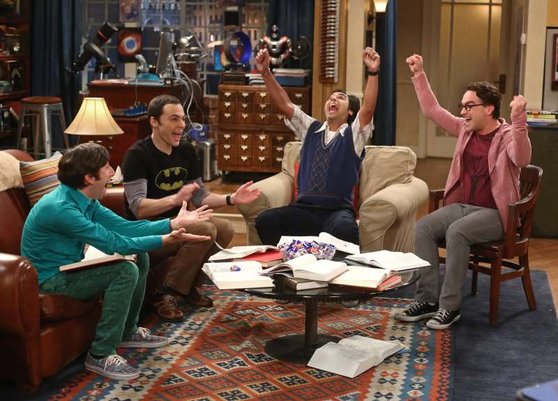 Maratona da série The Big Bang Theory é uma das opções na televisão