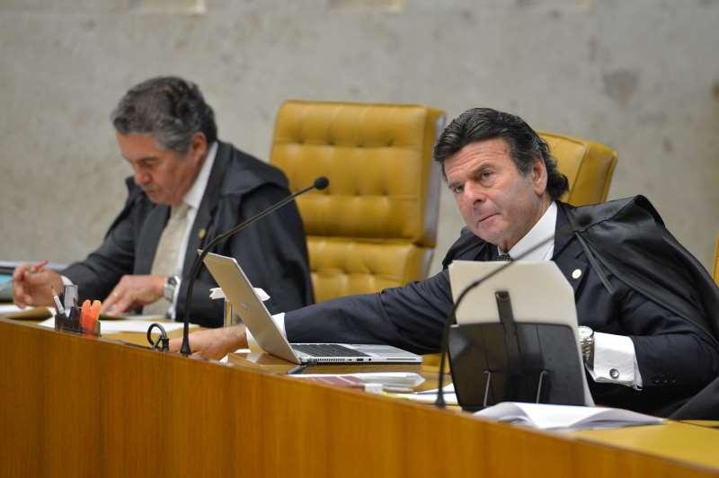 Ministros da Corte consideram que Fux (d) tenta interferir em processos de outros gabinetes