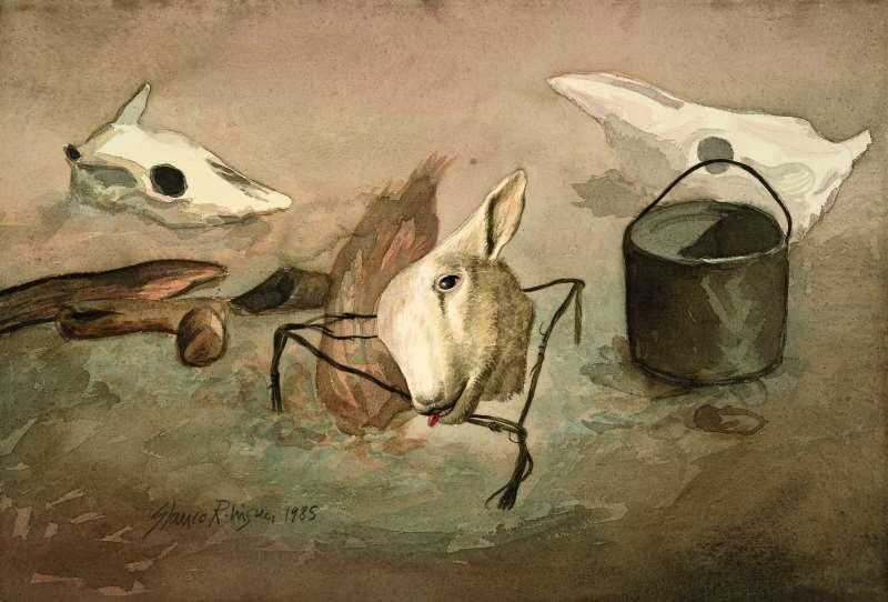 Série O tempo e o vento, de Glauco Rodrigues