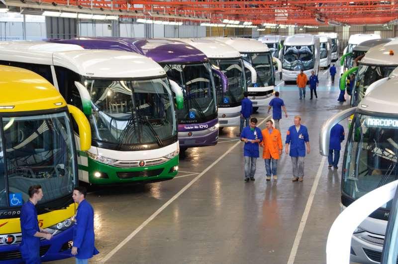 Fabricante de ônibus vendeu 9.212 carrocerias no período, queda de 17,5% ante 2015