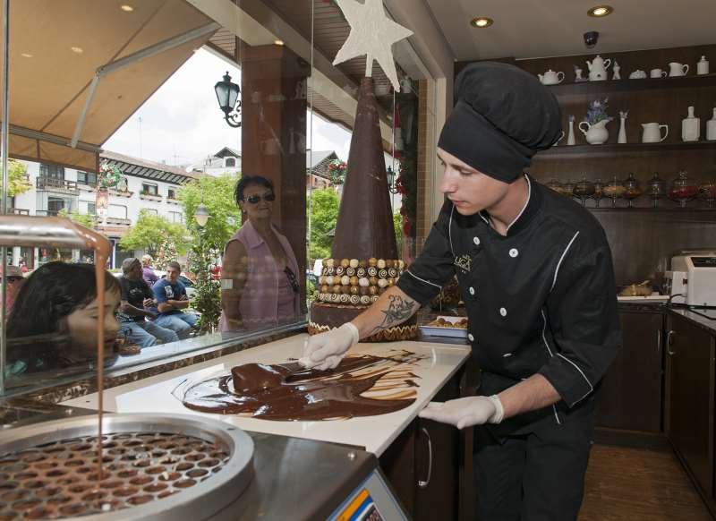 Ovos de chocolate leiloados foram feitos artesanalmente