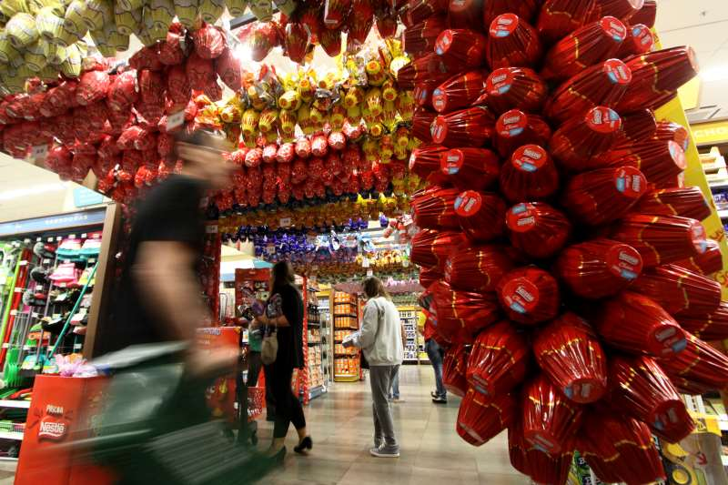 Supermercados esperam vender 6,6 milhões de ovos de chocolate