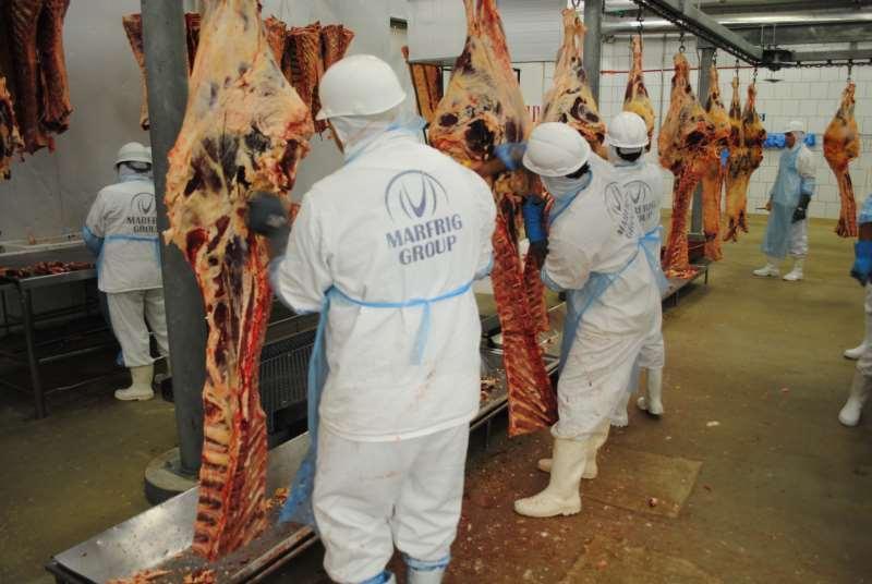 Entre cinco segmentos, o de carnes foi o que apresentou maior participação nos embarques, de 23,2%