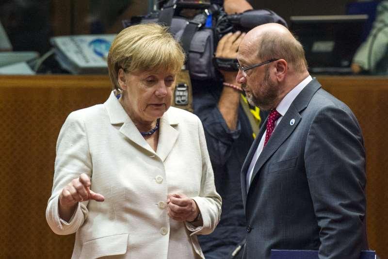 Coalizão de Angela Merkel e SPD, de Martin Schulz, devem fechar em breve as diretrizes de governo
