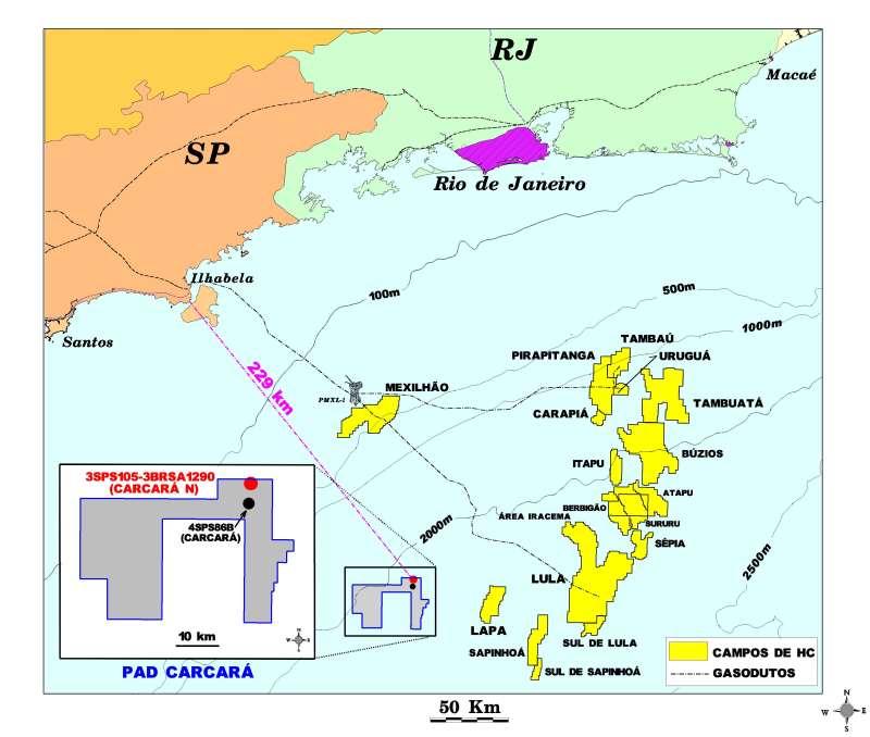 Carcará foi o primeiro campo vendido pela Petrobras no plano de desinvestimento