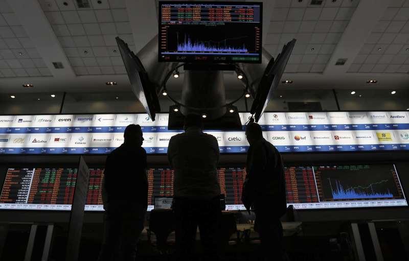 Ações de primeira linha do setor financeiro seguiram com altas fortes