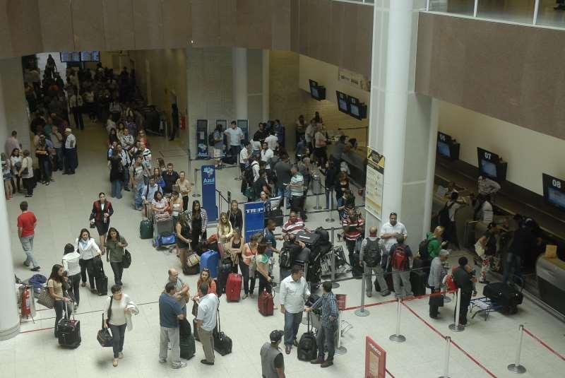 Aeroporto Viracopos Fica Onde : Satisfação dos passageiros com aeroportos fica estável