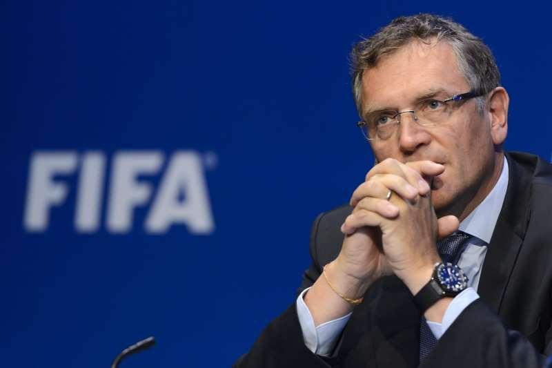 Valcke foi secretário-geral da Fifa na Copa do Mundo de 2014