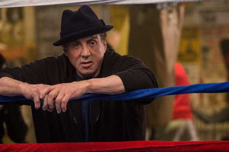 Sylvester Stallone em Creed - nascido para lutar