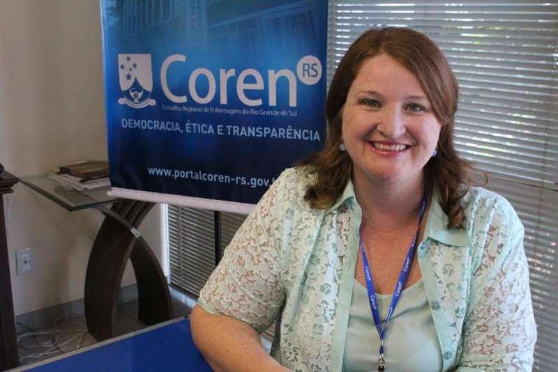 Laura Glüer, jornalista e doutora em Comunicação