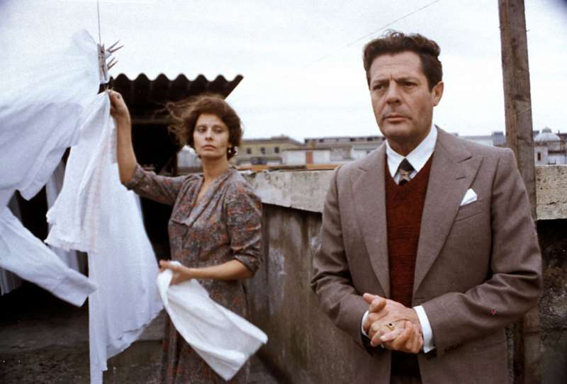 Curso aborda obras do cineasta, como Um dia muito especial, com Sophia Loren e Marcello Mastroianni