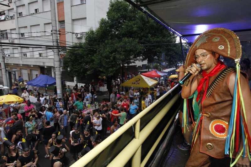 No ano passado, o tema do Bloco Maria do Bairro foi o Cangaço