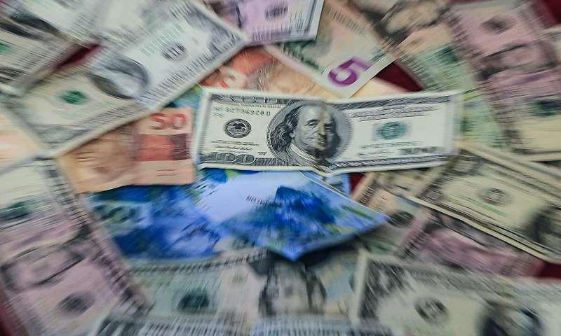 O dólar à vista fechou em queda de 0,06%, cotado em R$ 3,7891
