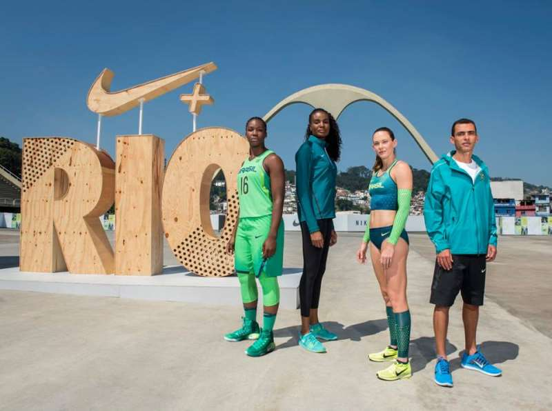 Atletas divulgaram novos uniformes da Nike para as Olimpíadas 2016