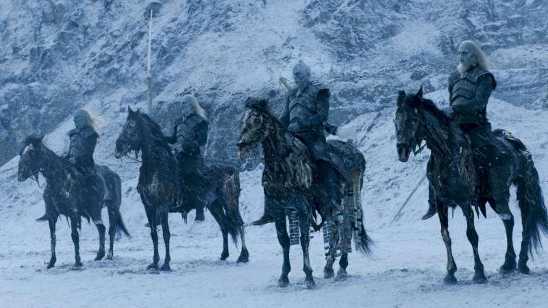 Sétima temporada de Game of Thrones forca os temidos white walkers