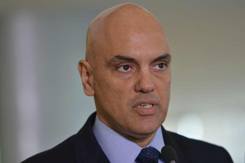 Brasília - O ministro da Justiça, Alexandre de Moraes, fala à imprensa sobre a segurança na Olimpíada (Antônio Cruz/ Agência Brasil)