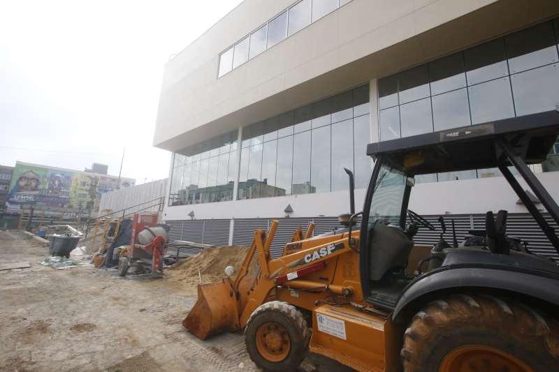 A reforma do prédio que receberá o consulado começou no início de junho de 2015