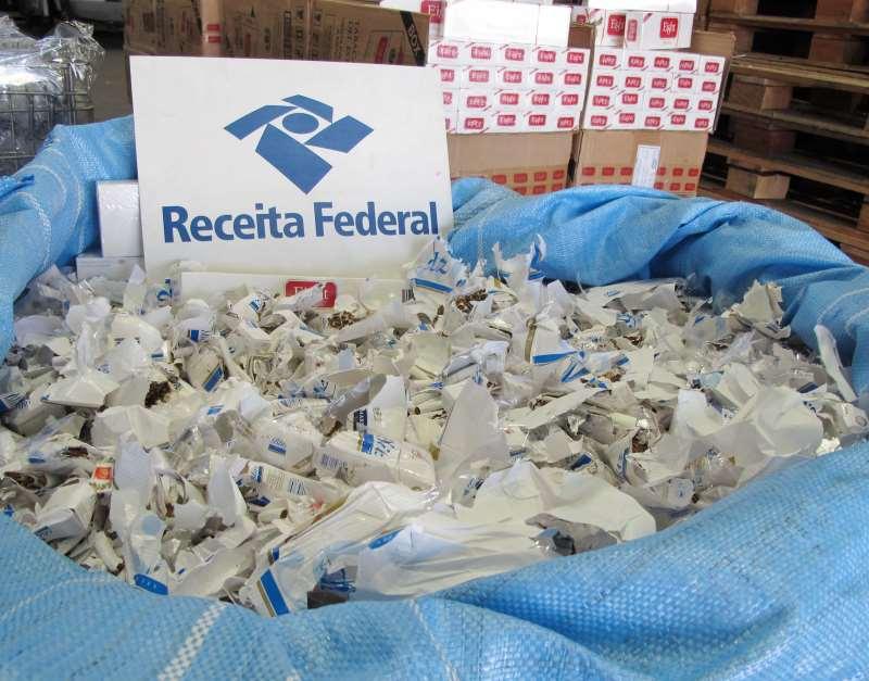Resultado de imagem para Receita bate recorde em apreensão de mercadorias irregulares