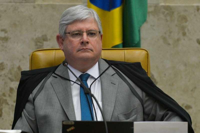 Brasília - O procurador-geral da República, Rodrigo Janot, durante sessão plenária do STF para julgar a segunda ação penal contra o presidente afastado da Câmara dos Deputados, Eduardo Cunha (José Cruz/Agência Brasil)